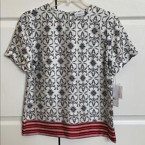 NWTS B2GOFREE 🍭Liz Claiborne blouse SzSP